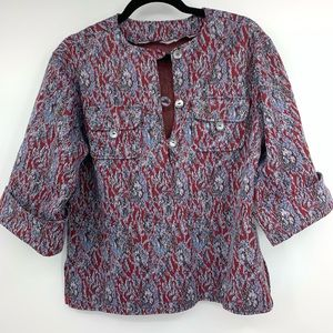 Vintage Womens Handmade Skirt Suit Set Double Knit